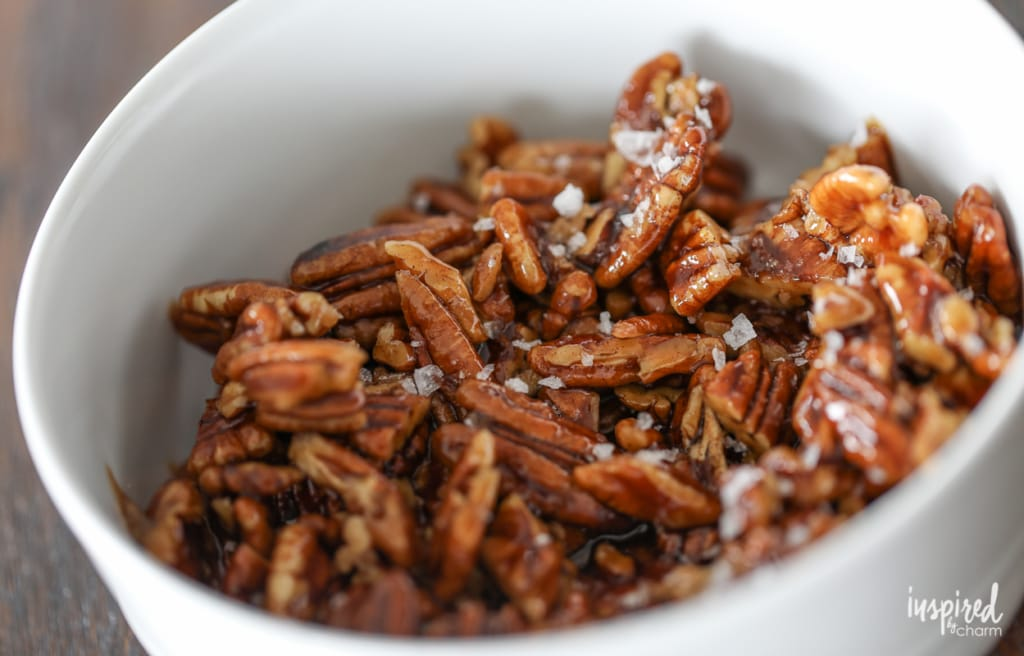 Roasted Carrots with Candied Pecans and Goat Cheese - fall Thanksgiving side dish recipes