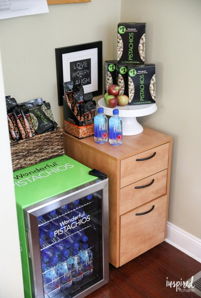#WorkSmartSnackSmart Wonderful Pistachios Office Refresh Giveaway Winner