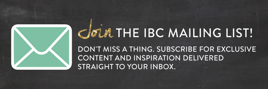 Join the Inspired by Charm Mailing List
