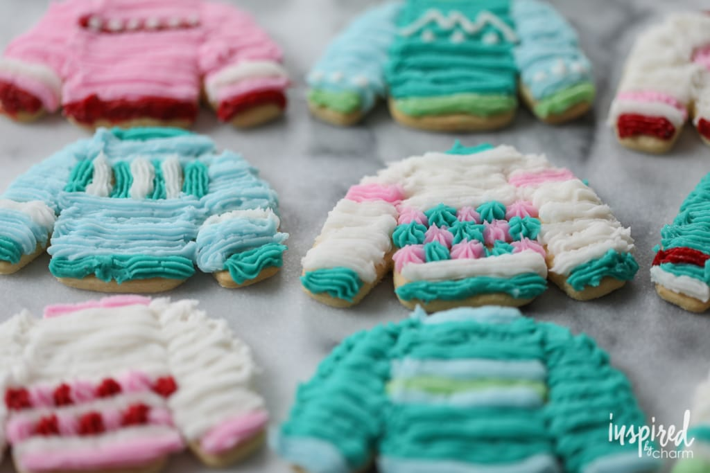 Sweater Weather Sugar Cookie | Inspired by Charm