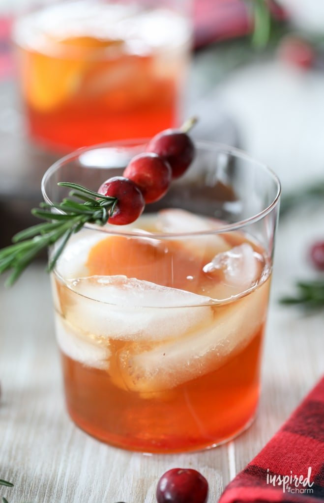 How to make the best old fashioned for the holidays