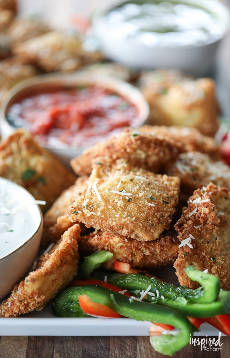Fried Ravioli Appetizer Recipe