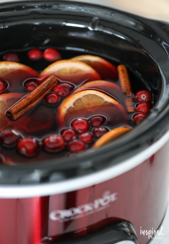 How to Make a Fall Cocktail in a Crock-Pot
