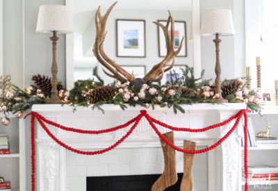 5 Creative Christmas Mantel Decor Ideas | Inspired by Charm
