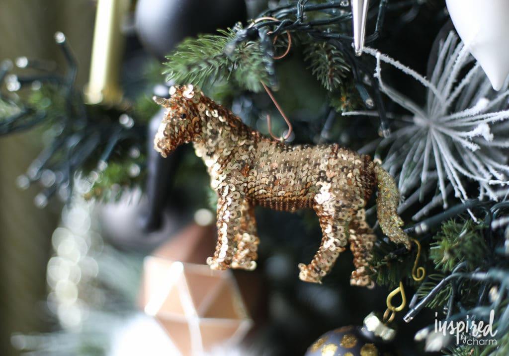 Unicorn Christmas Tree Decorations