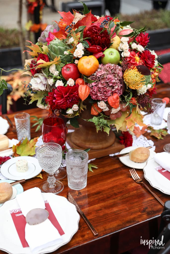 Ideas for decorating your Thanksgiving table