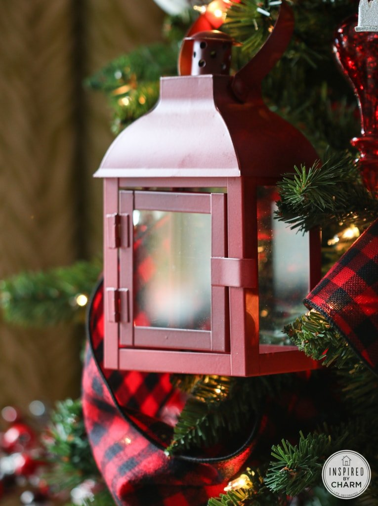 Rustic Woodland Christmas Tree Decorations