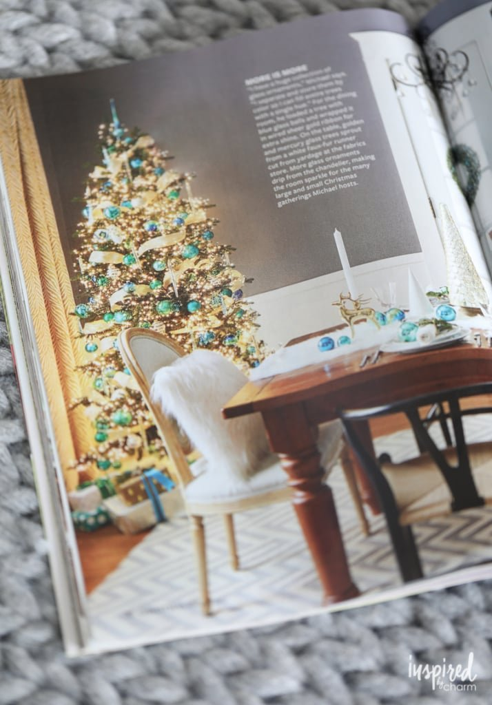 Inspired by Charm Featured and Cover Store - BHG Christmas Ideas Magazine 2017