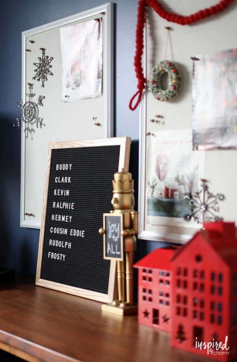 Modern Home Office Holiday Decorations
