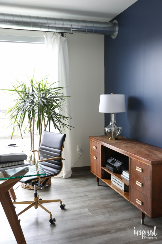 Indigo Batik - Feature Wall Paint for My Home Office