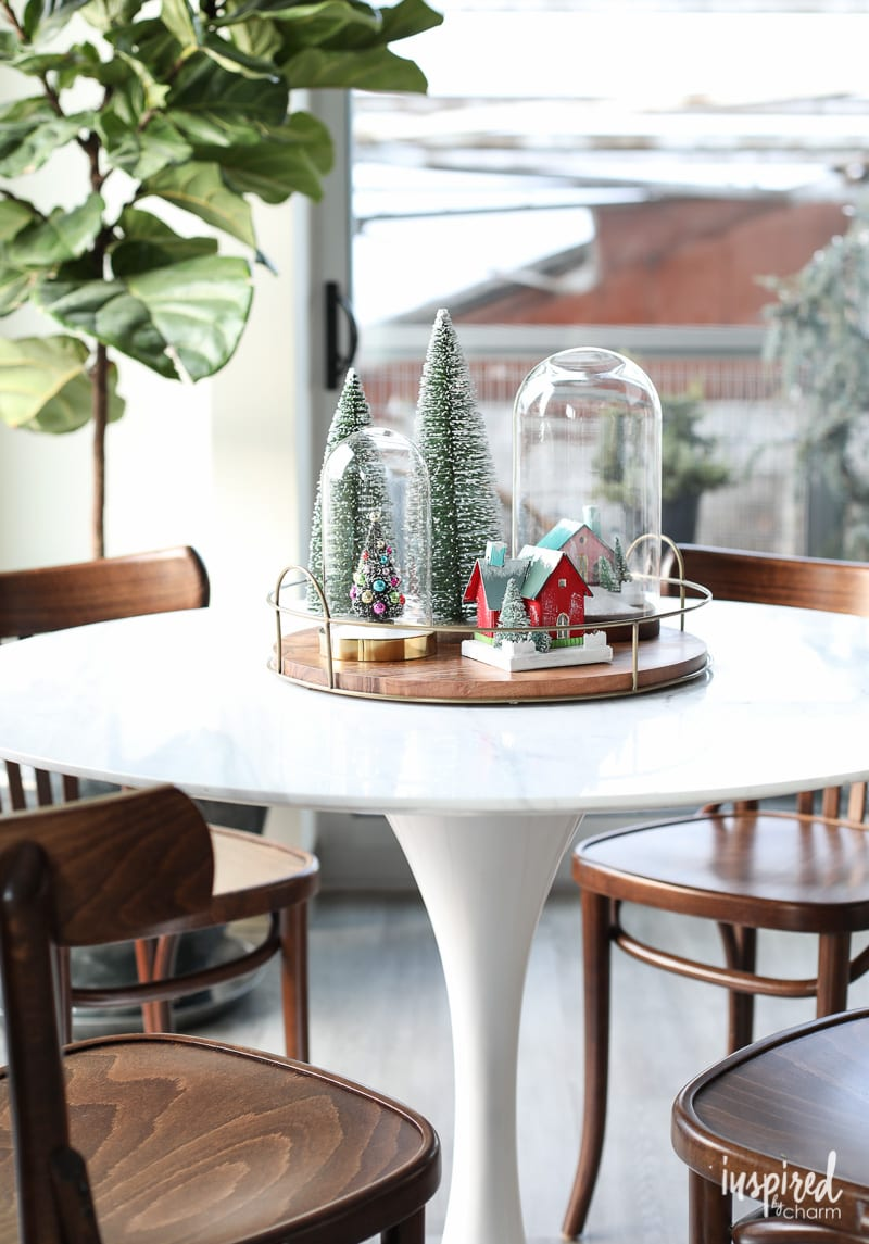 Modern Christmas Dining Table Decorations