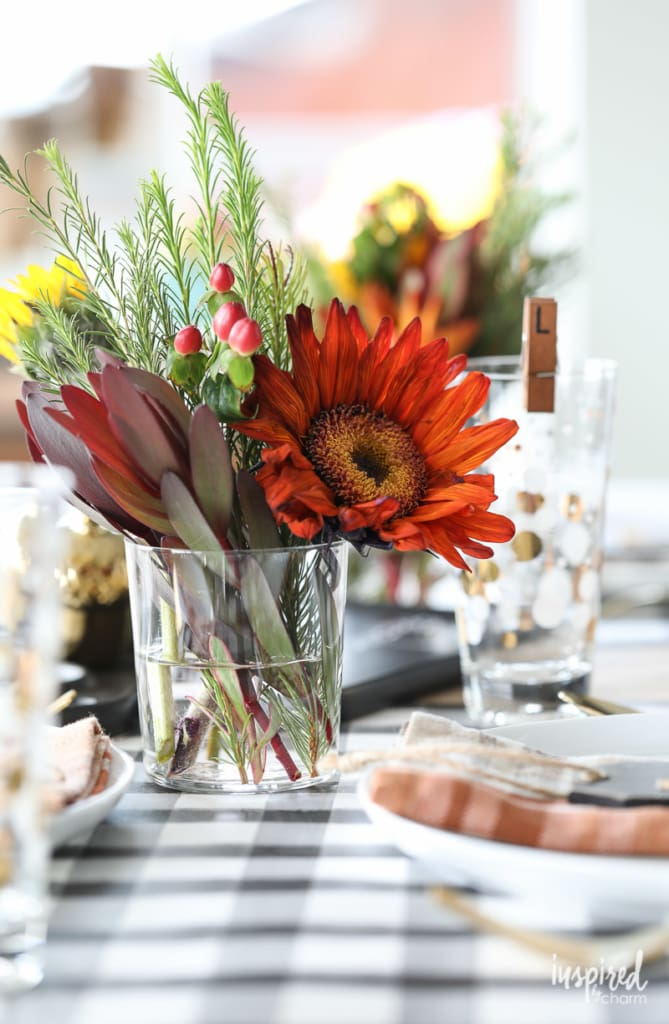 Fresh flowers - Friendsgiving Ideas