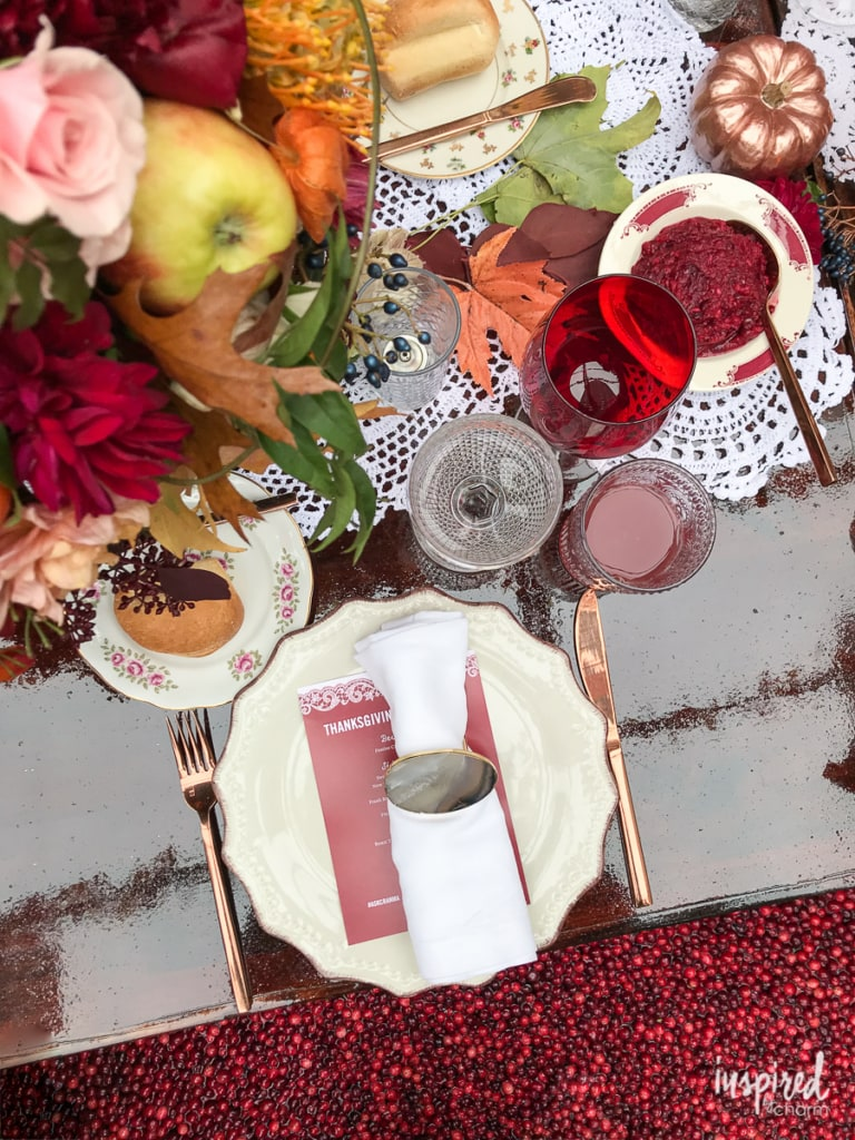 Thanksgiving Table Setting Decor Ideas