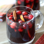 Crock-Pot Thanksgiving Sangria | Inspired by Charm
