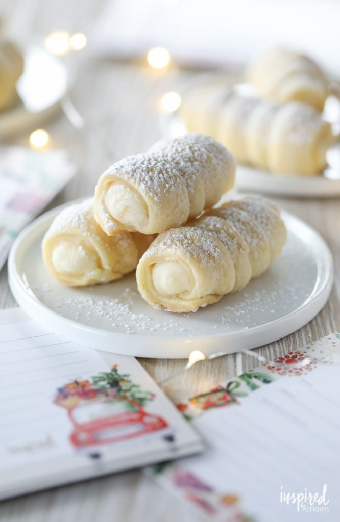 Cream Horn Cookies (Lady Locks) recipe