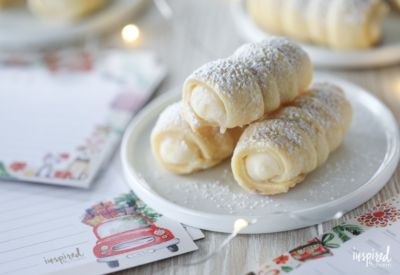 Cream Horn Cookie recipe for Christmas!