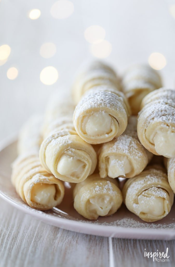 How to Make Cream Horn Cookies (Lady Locks) recipe #cookie #recipe #ladylocks #creamhorn #cookie