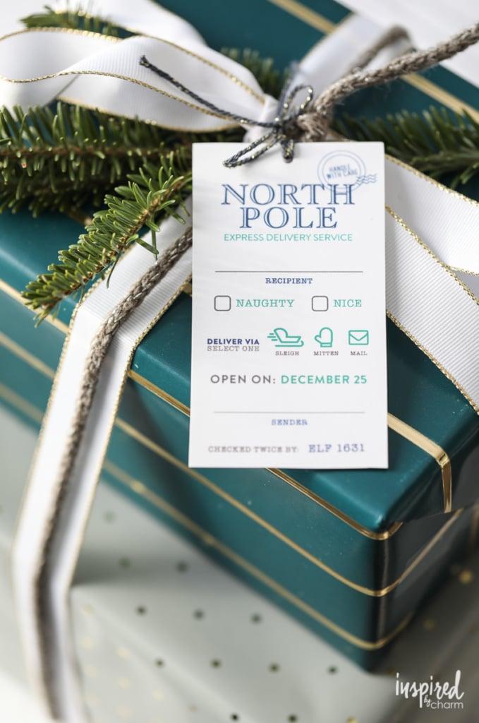 Gift Wrapping Ideas - Christmas Printable Gift Tags