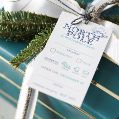 Christmas Gift Wrap - Christmas Printable Gift Tags