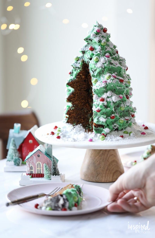 Gingerbread Cake - Christmas Holiday Dessert recipe