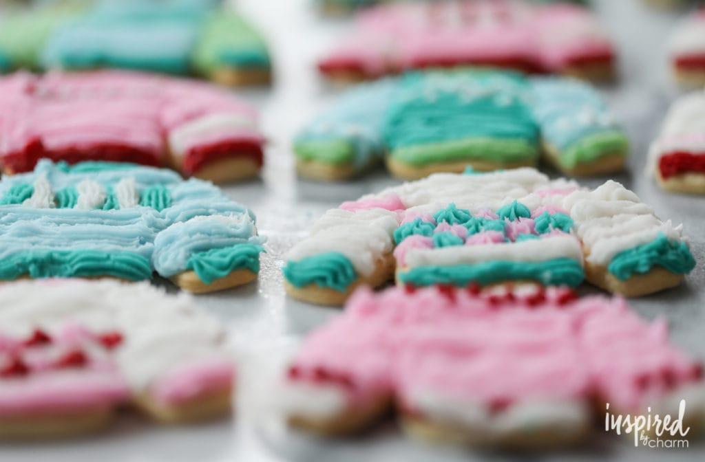 Sweater Weather Sugar Cookies - Best Christmas Cookies recipes