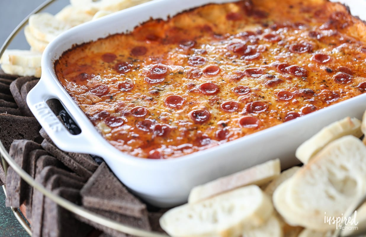 The Ultimate Sausage Pizza Dip