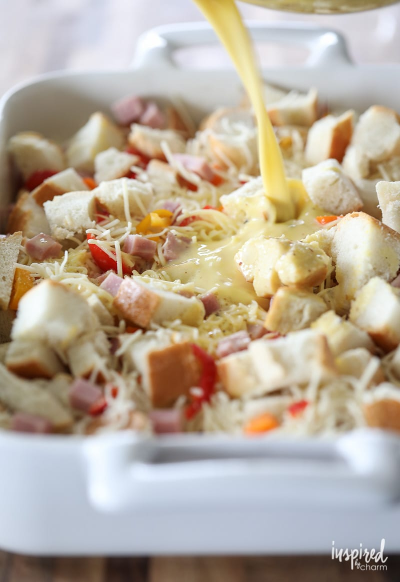 Recipe for an Easy Overnight Breakfast Casserole