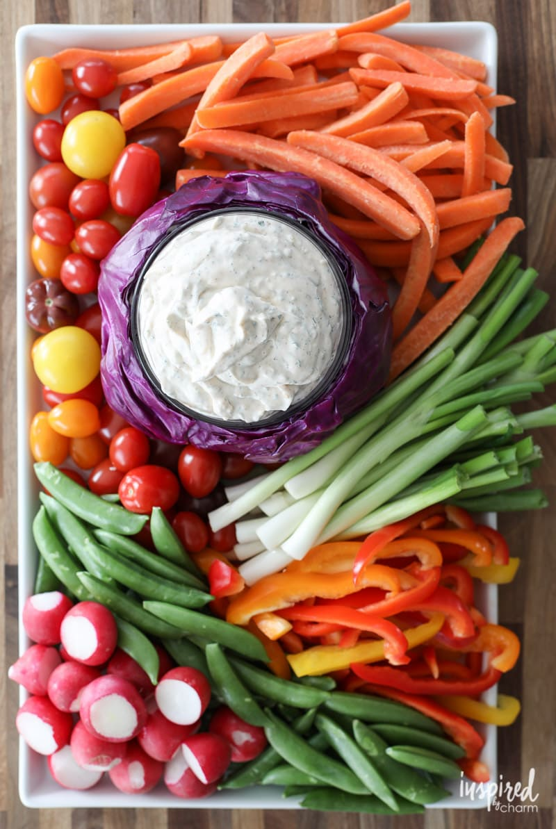 How to Create the Perfect Vegetable Tray