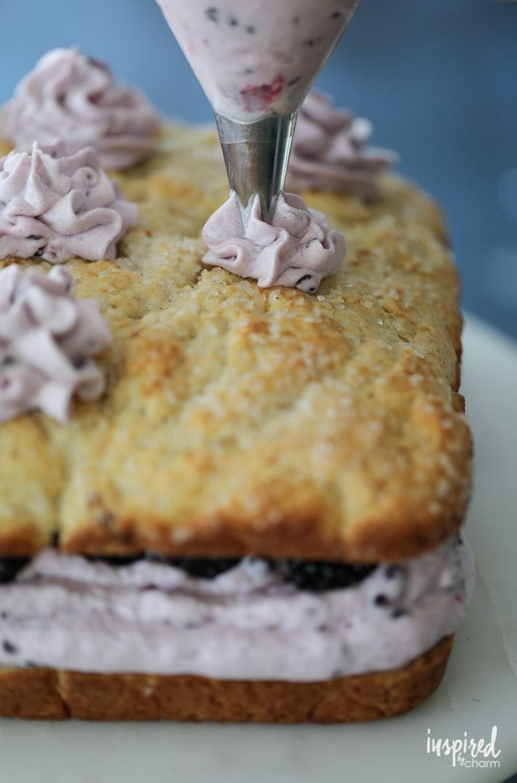 How to Make Blackberry Lime Shortcake Cake