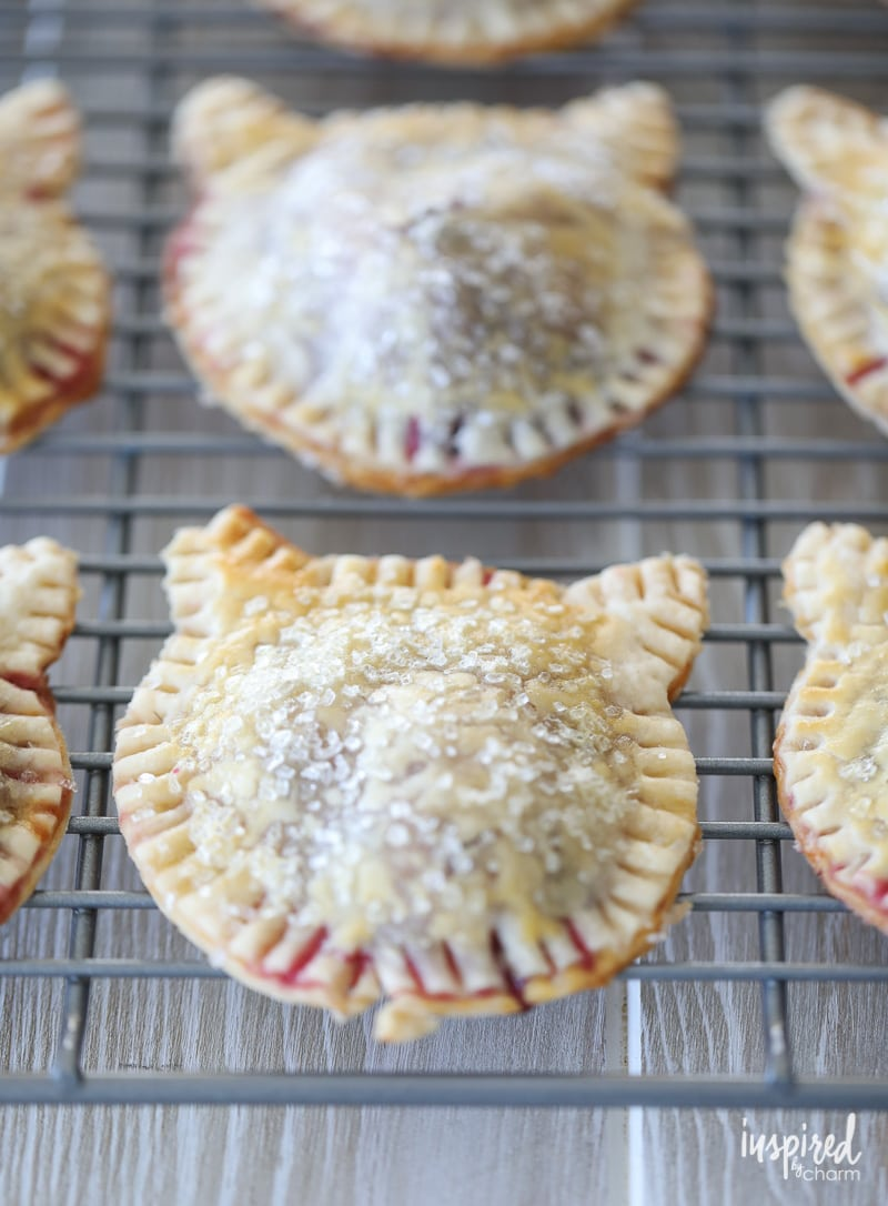 These Purrrfect Berry Hand Pies are as cute as they are delicious.
