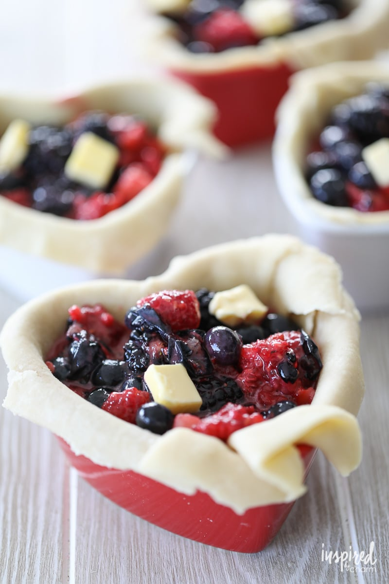 How to Make Mixed Berry Pot Pies