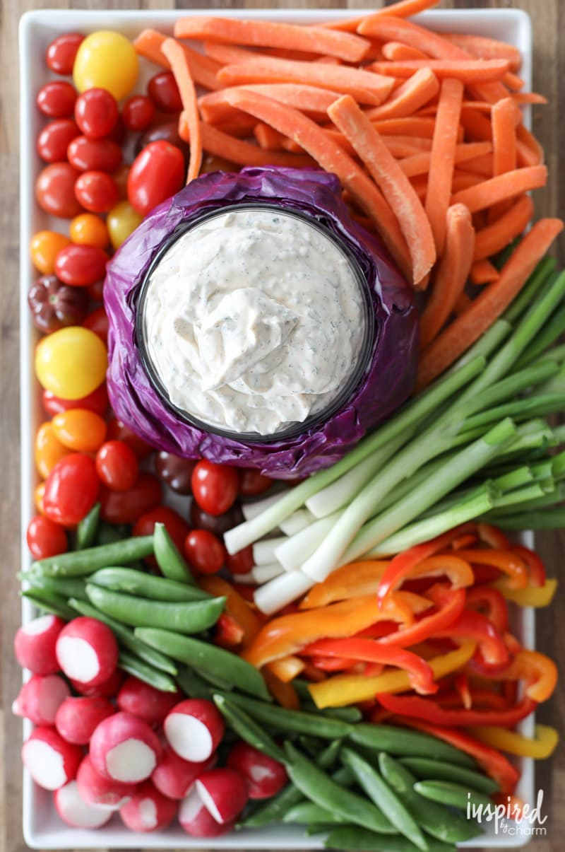 Really Good Veggie Dip