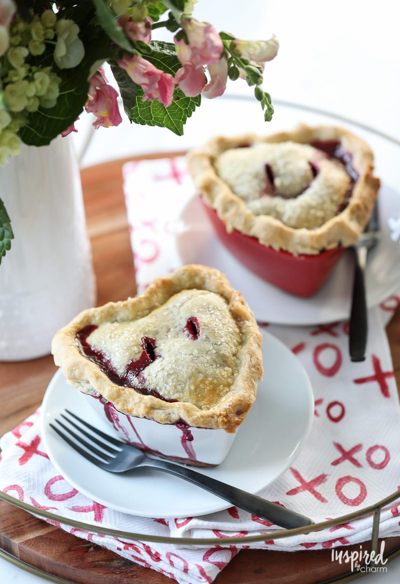 Celebrate Valentine's Day with this delicious recipe for Mixed Berry Pot Pies