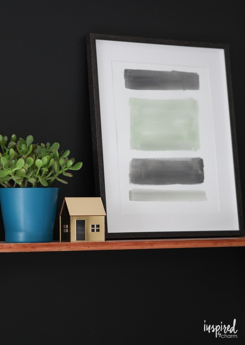 DIY Artwork for an Organized and Stylish Bedroom