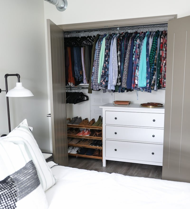 Bedroom Clothes Storage - Organized and Stylish Bedroom