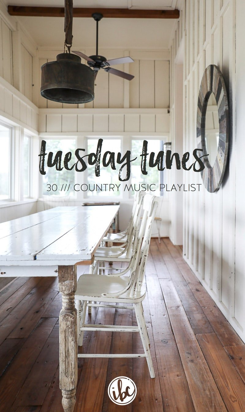 A New Country Music Playlist - Inspired by Charm's Tuesday Tunes
