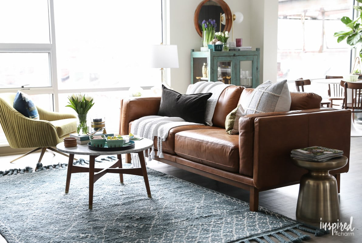 Unique Spring Decorating Ideas For Your #Living #Room. #spring #decorating #