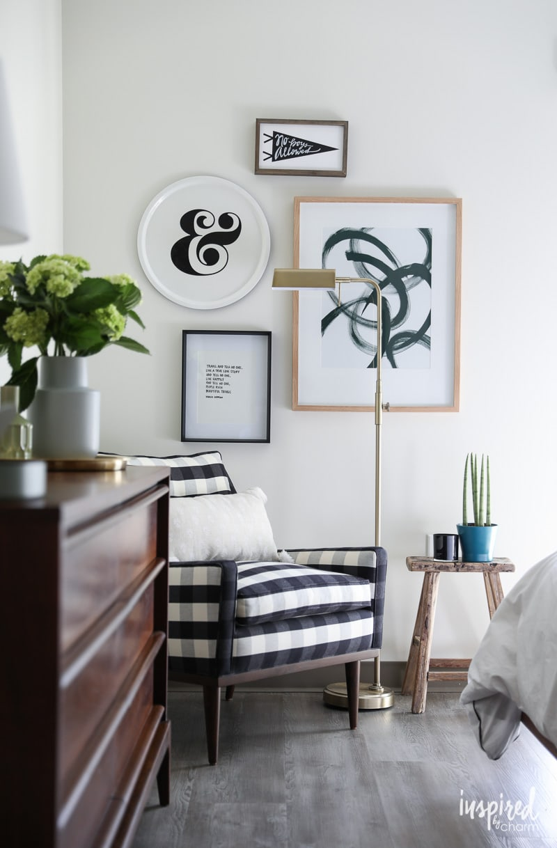 Masculine Modern Farmhouse - Tips for an Organized and Stylish Bedroom