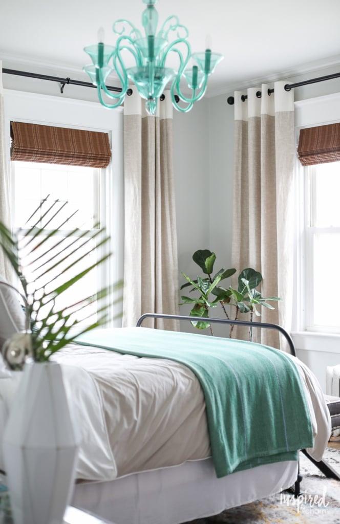 Aqua Bedroom Decor