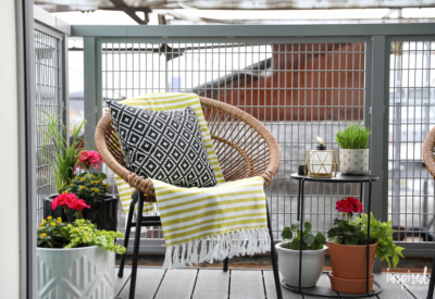 Small Balcony Ideas for Decorating #decor #outdoor #styling