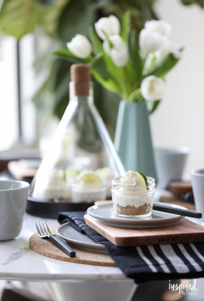 Mini Mason Jar Key Lime Pies - Decor Ideas for Indoor/Outdoor Living