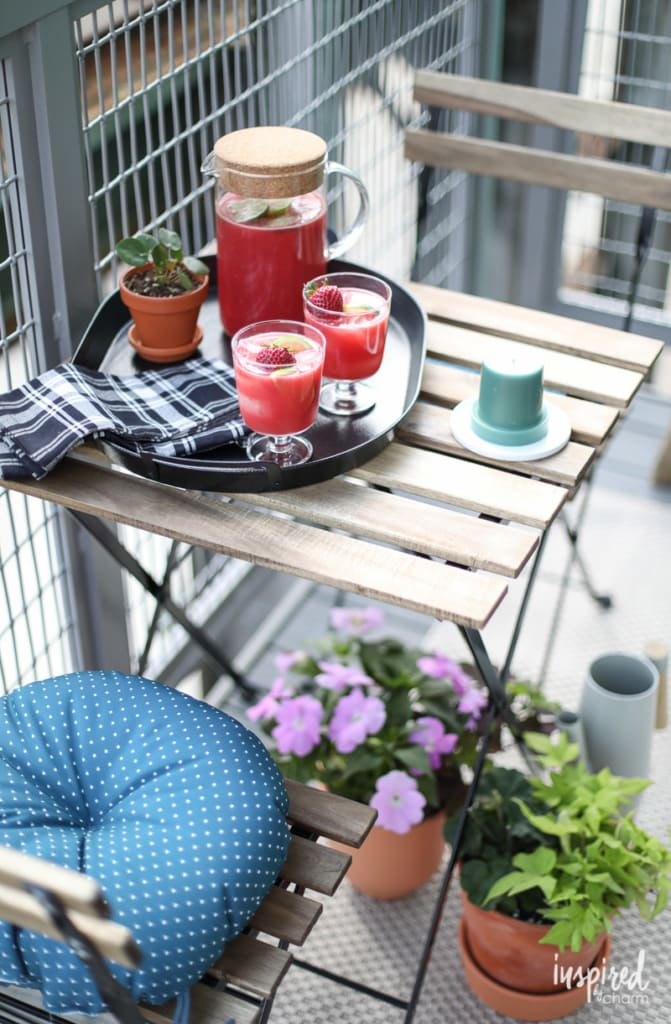 Berry Watermelon Limeade - Decor Ideas for Indoor/Outdoor Living