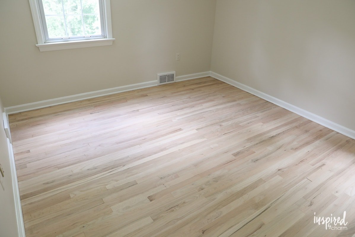 Attirant Refinishing My Upstairs Hardwood Floors