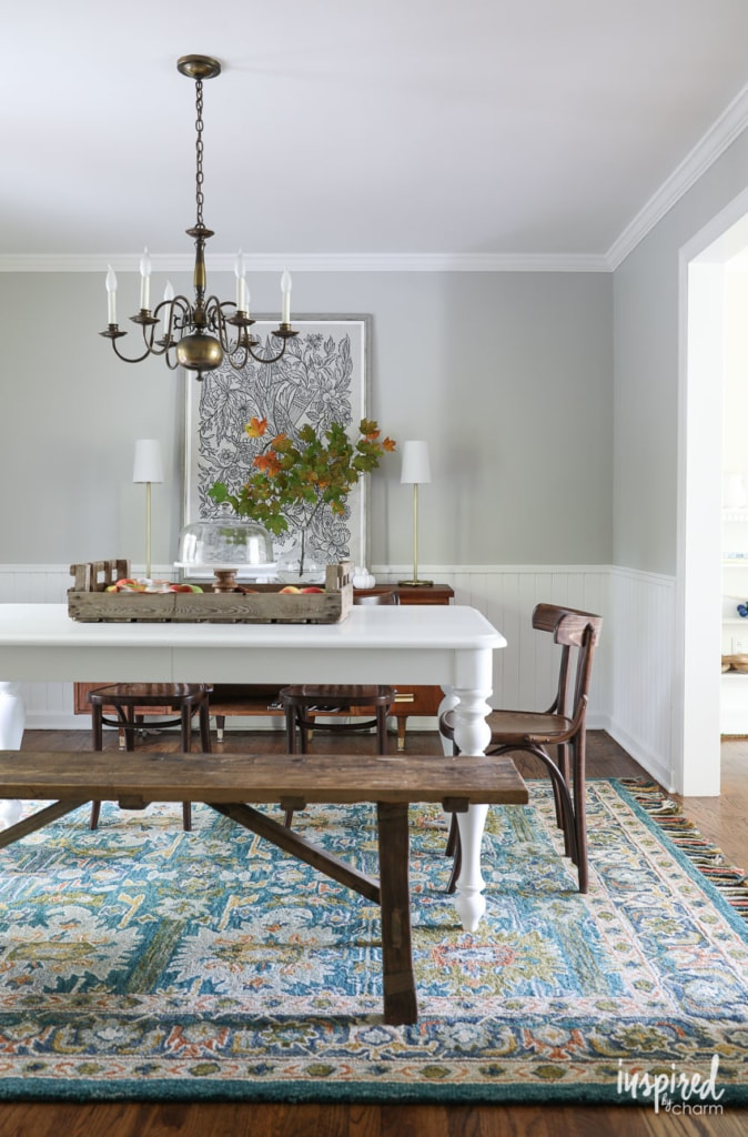 A Rug and Table for my Dining Room - home decorating ideas