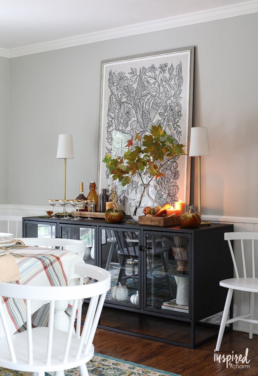 Creative and Colorful Fall Decor Ideas for Your Dining Room
