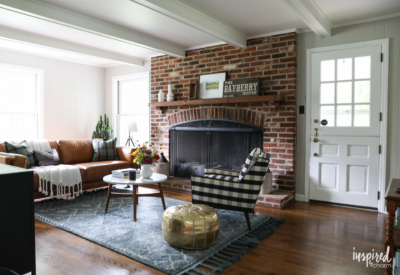 Creating a Family Room Design Plan #decorating #interiordesign #familyroom #moderncountrycolonial
