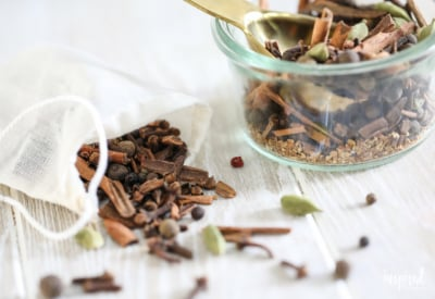 Homemade Mulling Spices for Apple Cider and Mulled Wine #mullingspices #applecider #mulled #cocktail #cider #recipe