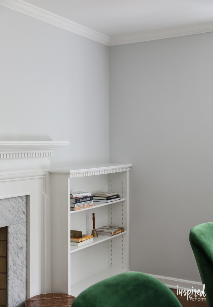 Painting my Living Room - Farrow & Ball Dimpse