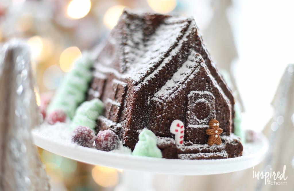 Gingerbread House Gingerbread Cake