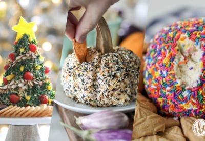 A Cheese Ball Recipe for Every Season #appetizer #recipe #cheeseball #cheese #snack #entertaining #easy